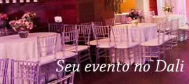 Seu evento no Dali